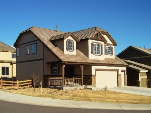 Another available new home in Parker, CO's Cobblestone Ranch